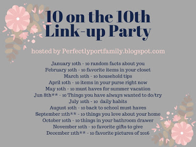 10 on the 10th Link-up
