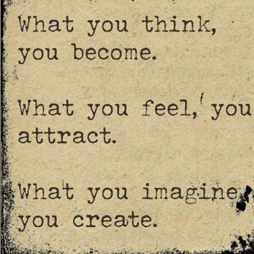 positive_quotes_What_you_think_you_come_47